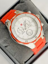MICHELE TAHITIAN Jelly Bean Mandarin Chronograph Watch MWW12F000048 $345.00