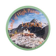 Fridge Magnet Land of High Passes Ladakh Jammu Kashmir Souvenir Button Pin Badge