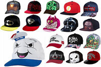 Official Snapback Snap Back Character Baseball Cap Adjustable Hats BRAND NEW!