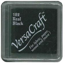 Tsukineko VersaCraft Ink Small Pad - Real Black