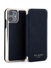 Ted Baker® Womens Luxury Mirror Folio Black Case for iPhone 11 - SHARITA