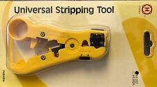 Universal Heavy Duty Stripping Tool for Coaxial, round networking + telephone