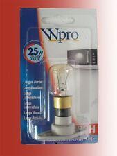 BOSCH SIEMENS NEFF AEG Bauknecht Whirlpool Microondas Lámpara de cámara 25w