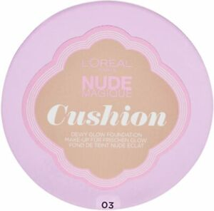 3 x L'OREAL Nude Magique Cushion Foundation - Various shades
