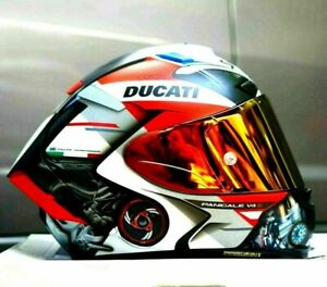 X14 X-Spirit 3 Motorcycle Full Face Helmet Marquez Moto GP Helmet Ducatii V4