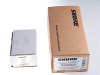 SHURE MX 202 W/N Microflex Overhead Microphone + R185W Kapsel Niere | gebraucht