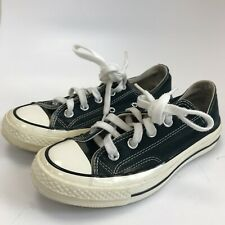 Converse Chuck Taylor All Star Ladies Flat Shoes Size UK 3.5 Navy Lace Up 281717