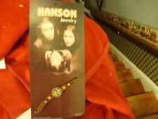 Vintage Dated 1998 Hanson Brothers Bracelet Plus Bonus Free Hanson Necklace
