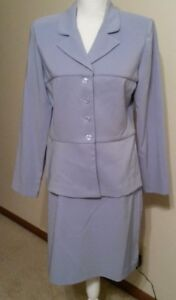 Suits Us Baby Blue Skirt Suit Size 11/12 Very Nice Lookin