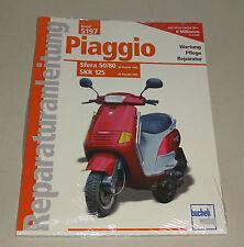 Reparaturanleitung Piaggio Sfera 50/80 - ab 1992 / SKR 125 - ab Baujahr 1994!