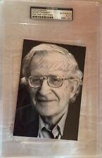 NOAM CHOMSKY SIGNED AUTOGRAPHED PHOTO LINGUISTICS PROFESSOR AUTHOR PSA/DNA