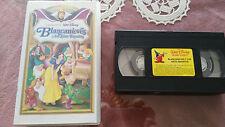 BLANCANIEVES Y LOS SIETE ENANITOS VHS WALT DISNEY COLECCIONISTA UNICA EBAY!!!
