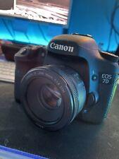 Canon EOS 7D 18.0 MP SLR-Digitalkamera - Schwarz (Nur Gehäuse)