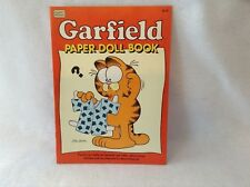 Garfield Paper Doll Book, Vintage uncut, from Happy House