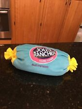 Jolly Rancher Plush Pillow Blue Raspberry Cylinder Body Pillow Licensed