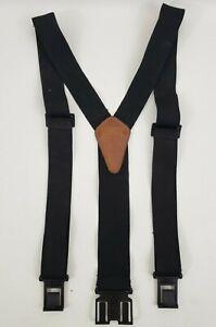 Dickies Men's Perry Adjustable Suspenders - Black