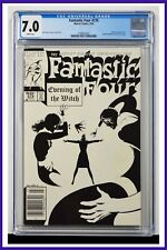 Fantastic Four #276 CGC Graded 7.0 Marvel 1985 Newsstand Edition Comic Book.