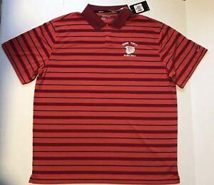 Nike ULVN Running Rebels Basketball Mens Polo  Dry Fit XXL 2XL Golf Shirt
