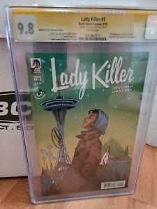 Lady Killer #1 Emerald City Comic Con Variant CGC SS 9.8 SIGNED Joelle Jones