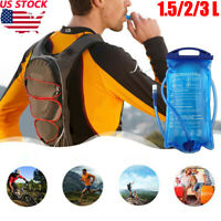 1.5/2/3 Litre Hydration Bladder/Pack Water Reservoir Pouch For Hiking/Cycling US