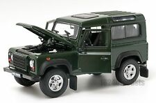 Land Rover Defender Green, Welly 22498, scale 1:24, model adult boy gift