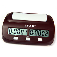 Digital Chess Timer Portable Handheld Electronic Countdown Board Game Clocks New