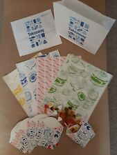 BBQ Party Pack, Takeaway, Chips, Scoops, wRAPS, Greaseproof Paper Sheets