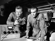OLD CBS TV RADIO PHOTO Men Into Space TV show William Lundigan & John Milford 1