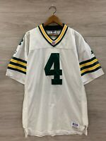 Vintage Green Bay Packers NFL Brett Favre Authentic Starter Football Jersey 48