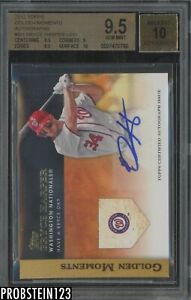 2012 Topps Golden Moments Bryce Harper RC Rookie AUTO BGS 9.5 w/ 10