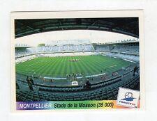figurina - CALCIATORI FRANCE 98 1998 PANINI - numero 10 STADIO MONTPELLIER