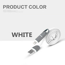 On Sale 2 in 1 USB Charging Cable Lightning Sync Micro USB for iPhone & Android