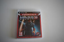 mass effect 3 ps3 ps 3 playstation 3 neuf sous blister