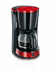 Severin KA4492 Coffee Maker Only 4492 Black Red 10 Cups Keep Warm Function