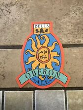 Bell's Oberon Ale  - Beer Coaster!!
