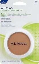(1) Almay Clear Complexion Pressed Powder with Blemish Heal Technology 300 Med**