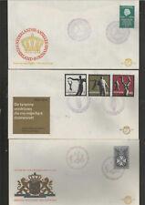 Nederland BLANCO  fdc E 70 - 71 - 72