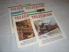 Lgb Telegram Magazine Set 1996 Volume 7 Numbers 1 2 3 & 4 Brand New Condition!