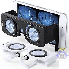 OCCHIALI Virtuali 3D Realta' VIRTUALE Visore TELEFONO Cellulare VR Gioco GAME