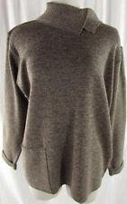 Merinowolle Normalgröße Damen-Pullover & -Strickware mit Stehkragen
