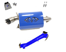 Evolution Powersports Evo Stage 4R ECU Flash Blue Magnum Exhaust RZR XP TURBO