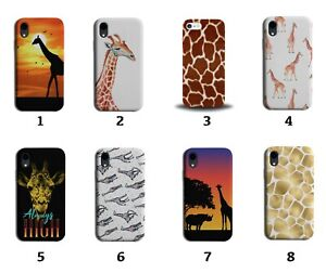 Giraffe Phone Case Cover Giraffes Animal Africa Print Pattern Skin Gold 8027 F