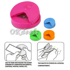 HOOT R4 Corner Rounder 4mm Paper Punch Card Photo Cutter Tool Craft Scrapbooking