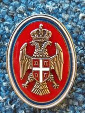 VOJSKA REPUBLIKE SRPSKE, REPUBLIC of SRPSKA ARMY, NCO's CAP BADGE, PIN - VRS