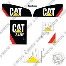 Caterpillar 349 FL Decals Hydraulic Excavator Equipment Decals (349FL)