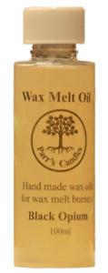Wax Melt Oil - hand made wax oils for wax melt burners- Black Opium - 100ml