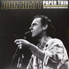 John Hiatt vinyl record de papel fino