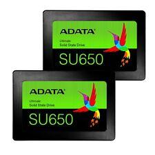 """2.5"""" 120GB SATA III 3D NAND Internal Solid State Drive SSD 120 GB Lot 2"""