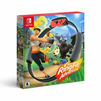 NEW Nintendo Ring Fit Adventure Game with Ring-Con & Leg-Strap (Nintendo Switch)