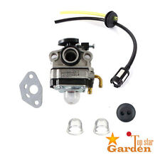 Carburetor Carb For Troy-Bilt TB26TB TB475SS TB575SS TB525CS TB590BC Fuel Line